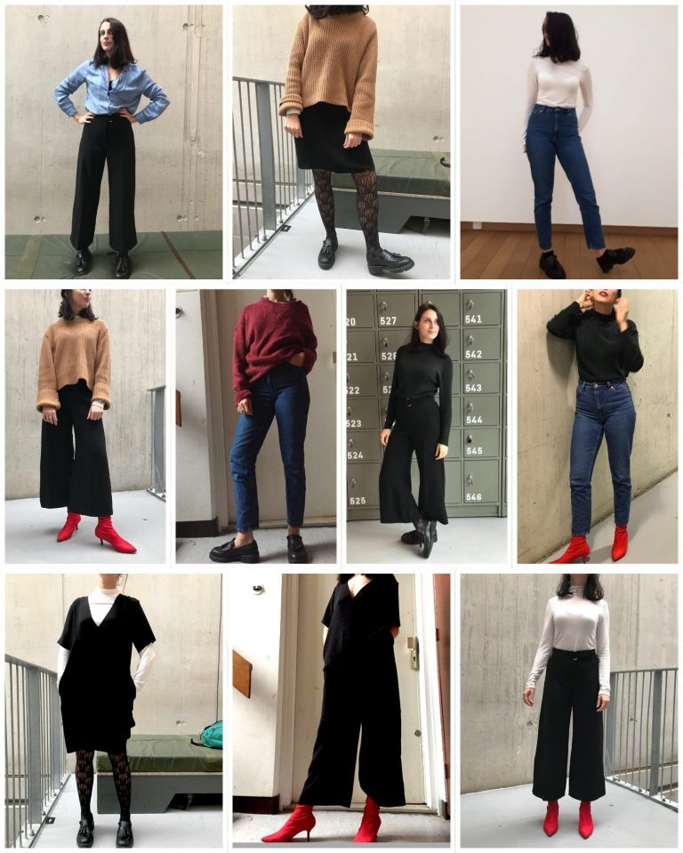 10x10 minimalistická módní výzva