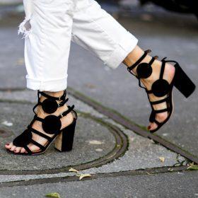 Dámské boty na podpadku