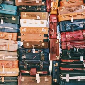 Pánské cestovní kufry