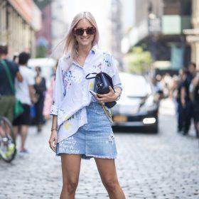 Dámské džínové sukně