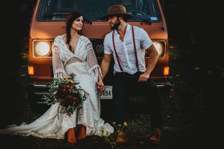 6 tipů pro svatbu v boho stylu