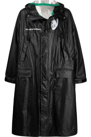 UNDERCOVER Rear print coat