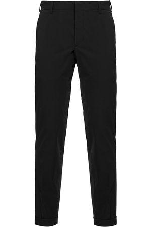 Prada Slim-fit twill trousers