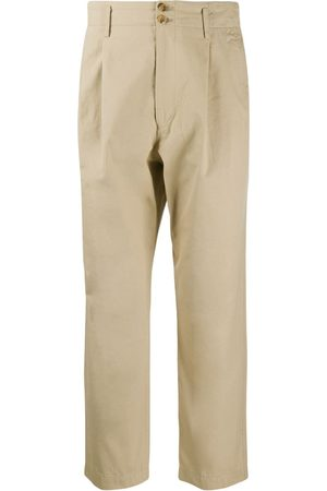 Junya Watanabe Comme Des Garçons Pre-Owned 2000s straight cropped trousers