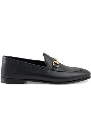 Gucci Black Brixton Horsebit leather loafers