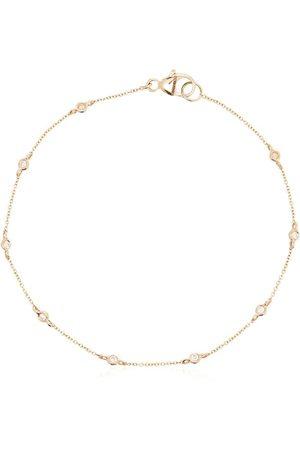 Dana Rebecca Designs 14kt yellow gold Lulu Jack diamond bezel bracelet