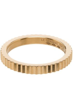 Le Gramme Single Guilloche ring