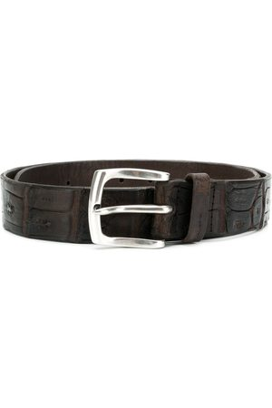 Orciani Embossed alligator style belt