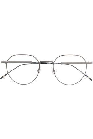 Mont Blanc Round-frame prescription glasses