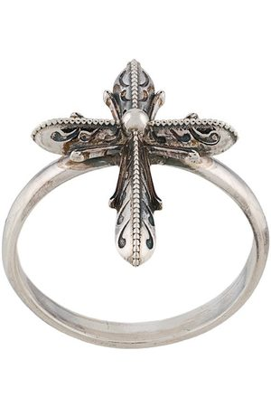 EMANUELE BICOCCHI Ornate cross ring