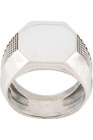 EMANUELE BICOCCHI Octagon signet ring