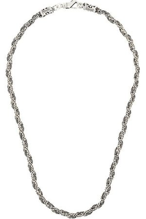 EMANUELE BICOCCHI Braided necklace