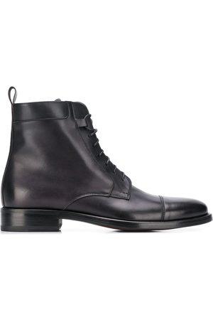 Scarosso Totò Nero ankle boots