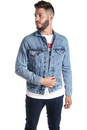 Pepe Jeans Muži Džínové bundy - Pánská džínová bunda