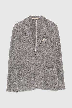 Zara žíhané úpletové sako
