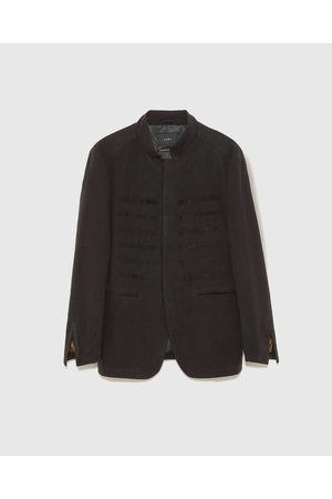 Zara Kombinované sako s texturou