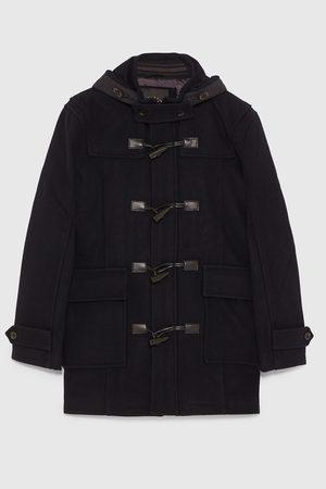Zara Duffle coat s kapucí