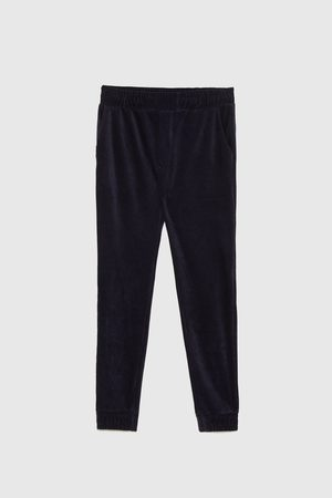 Zara Manšestrové kalhoty jogger