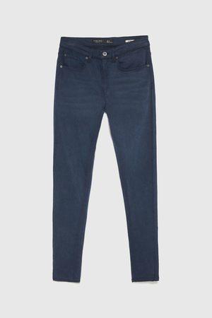 Zara Elastické kalhoty skinny
