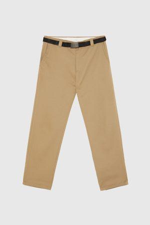 Zara Rovné kalhoty chino
