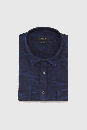Zara Košile s potiskem kamufláže