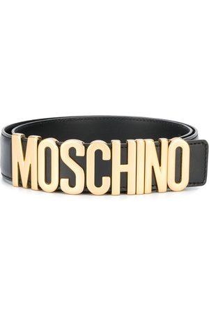Moschino Muži Pásky - Logo plaque belt