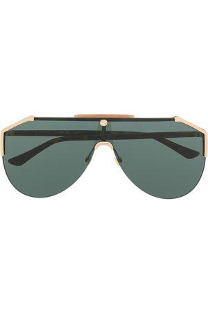 Gucci Sluneční brýle - Tinted aviator-frame sunglasses