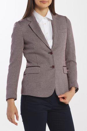 GANT Sako D1. Dogtooth Jersey Slim Blazer