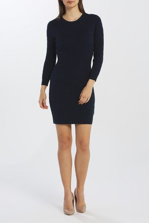 GANT Šaty D1. Stretch Cotton Cable Dress