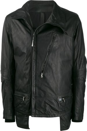 ISAAC SELLAM EXPERIENCE Dépassé leather zip jacket