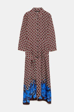 Zara Tunika s geometrickým potiskem