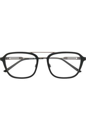 Calvin Klein Logo printed square frame glasses