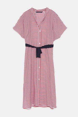 Zara Tunika s proužky a páskem