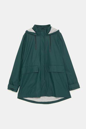 Zara Pogumovaný plášť do deště
