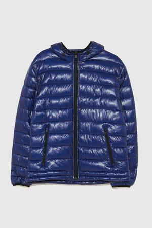 Zara Zateplená bunda s kapucí