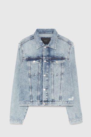 Zara Krátká džínová bunda