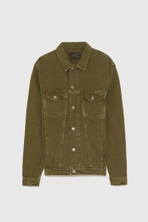 Zara Barevná džínová bunda