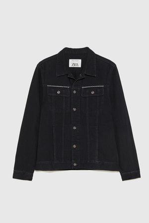 Zara Džínová bunda se cvočky