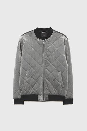 Zara Sametová prošívaná bunda
