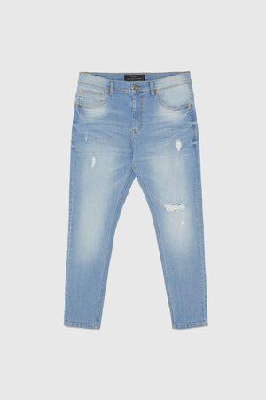 Zara Džínové kalhoty skinny carrot