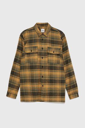 Zara Kostkovaná flanelová košile