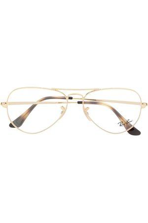 Ray-Ban Aviator framed glasses
