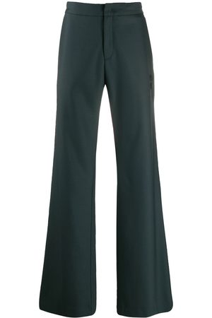 OFF-WHITE Wide leg tailored trousers