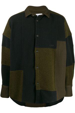 AMBUSH Muži Fleecové - Patchwork fleece jacket