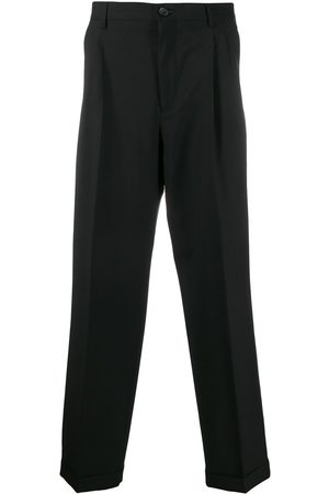 VALENTINO Pleated straight-leg trousers
