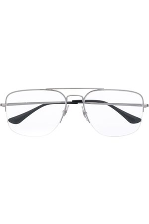 Ray-Ban Half-rim square glasses