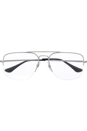 Ray-Ban Half-rim square glasses