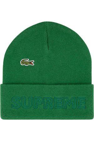 Supreme Čepice - X Lacoste knitted beanie