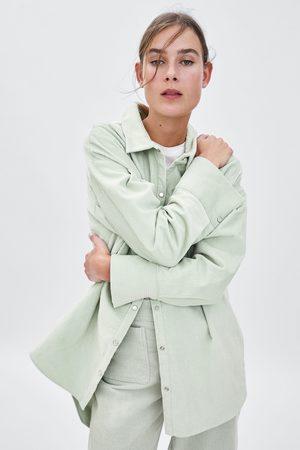 Zara Manšestrová košile oversize
