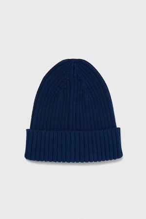 Zara žebrovaná čepice